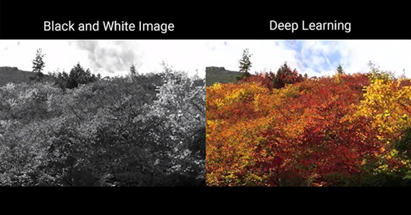 Used by NHK for broadcasting AI for colorizing black and white videos